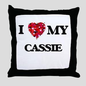 I love my Cassie Throw Pillow