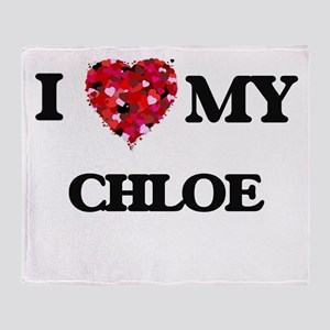 I love my Chloe Throw Blanket