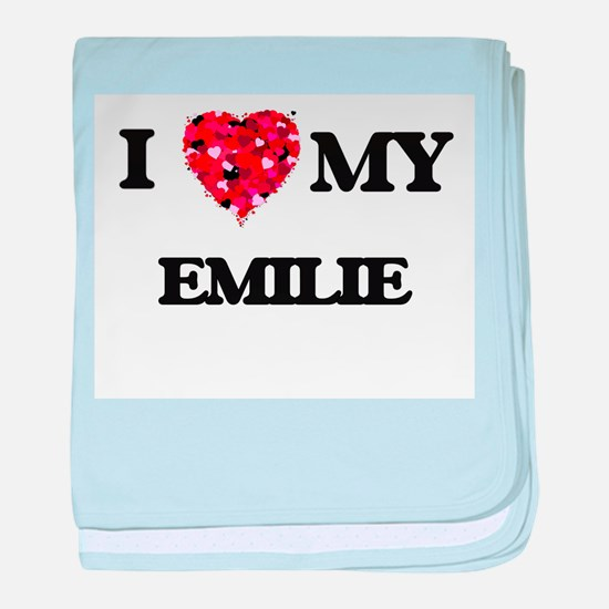 I love my Emilie baby blanket