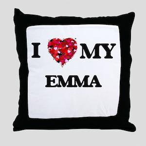 I love my Emma Throw Pillow