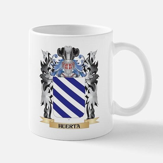 Huerta Coat of Arms - Family Crest Mugs