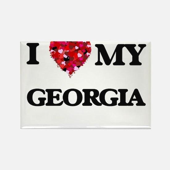 I love my Georgia Magnets