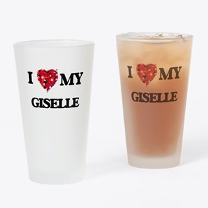 I love my Giselle Drinking Glass
