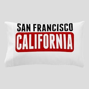 San Francisco California Pillow Case