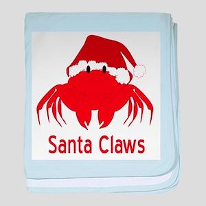 Santa Claws baby blanket