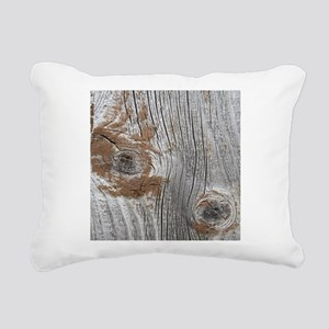 old wood Rectangular Canvas Pillow