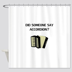 Did Someone Say Accordion Shower Curtain