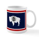 Wyoming State Flag on RH Mug