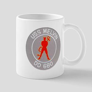 USS MELVIN Mug