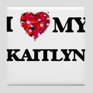 I love my Kaitlyn Tile Coaster