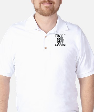 Son Proudly Serves - ARMY Golf Shirt