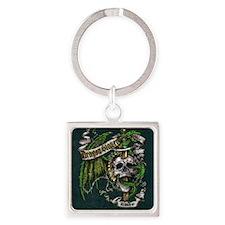 Dragon Slayer Crest Square Keychain