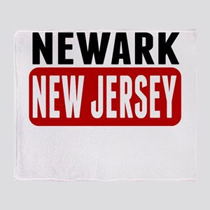Newark New Jersey Throw Blanket