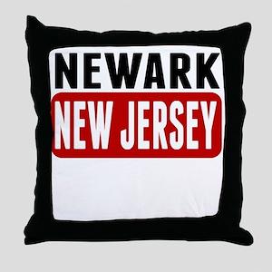 Newark New Jersey Throw Pillow