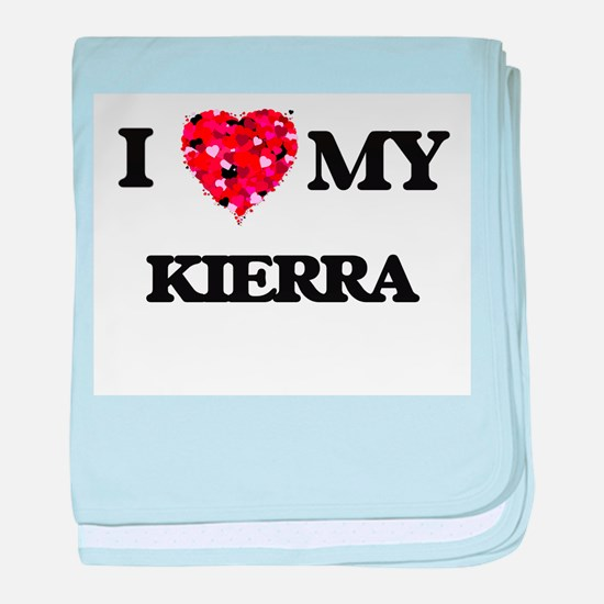 I love my Kierra baby blanket
