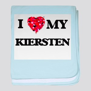 I love my Kiersten baby blanket