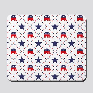 Republican Diamond Pattern Mousepad