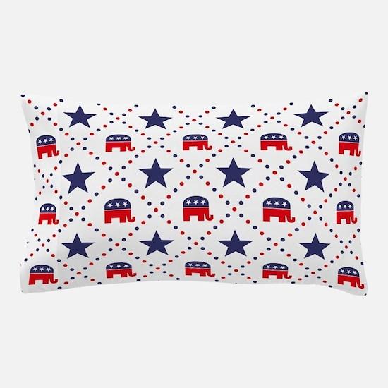Republican Diamond Pattern Pillow Case