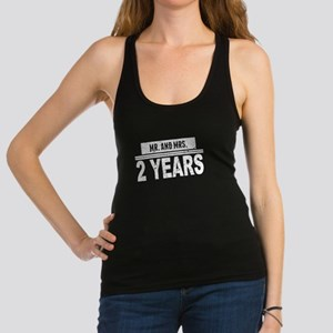 Mr. And Mrs. 2 Years Racerback Tank Top