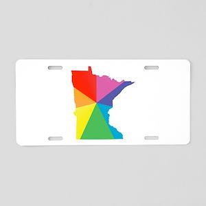 minnesota rainbow Aluminum License Plate