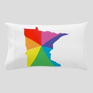 minnesota rainbow Pillow Case
