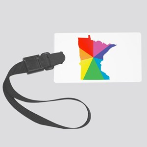 minnesota rainbow Luggage Tag