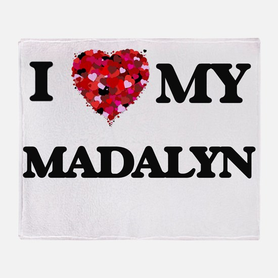 I love my Madalyn Throw Blanket