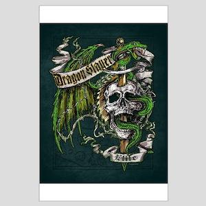 Dragon Slayer Crest Large Poster