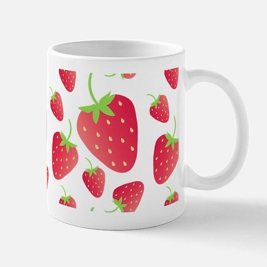 Strawberry Patch Mugs
