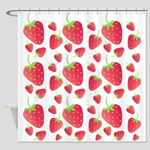 Strawberry Patch Shower Curtain