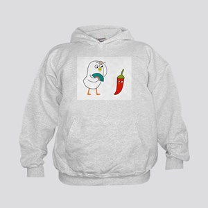 Chatting with hot pepper Sweatshirt