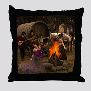 Gypsy Twilight Throw Pillow