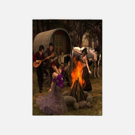 Gypsy Twilight 5'x7'area Rug