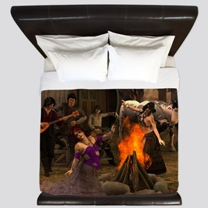 Gypsy Twilight King Duvet
