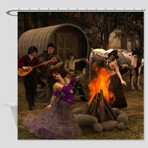 Gypsy Twilight Shower Curtain