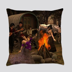 Gypsy Twilight Everyday Pillow