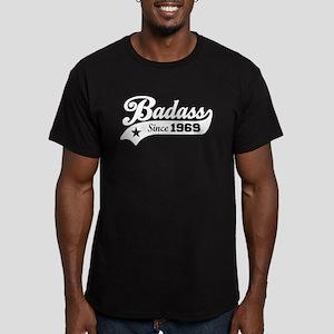 Badass Since 1969 Men's Fitted T-Shirt (dark)