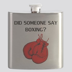 Did Someone Say Boxing? Flask