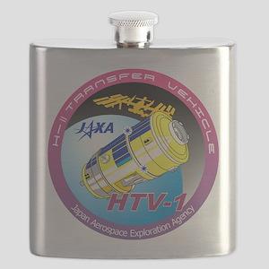 HTV-1 Program Logo Flask