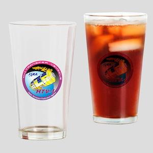 HTV-1 Program Logo Drinking Glass