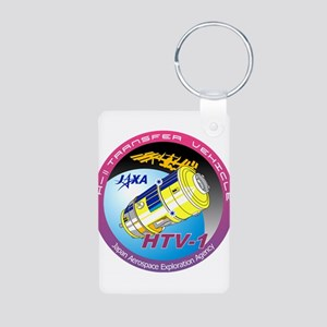 HTV-1 Program Logo Aluminum Photo Keychain