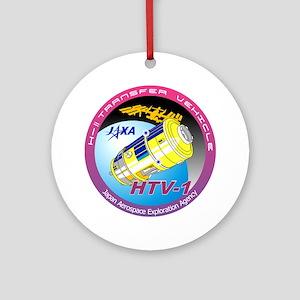 HTV-1 Program Logo Ornament (Round)