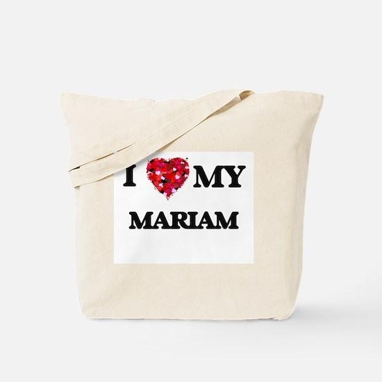 I love my Mariam Tote Bag