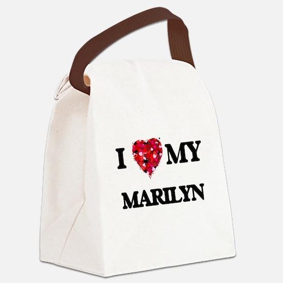 I love my Marilyn Canvas Lunch Bag
