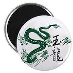 Jade Dragon Magnet