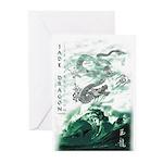 Jade Dragon Greeting Cards (Pk of 20)