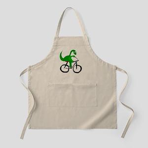 Dinosaur Riding Bicycle Apron