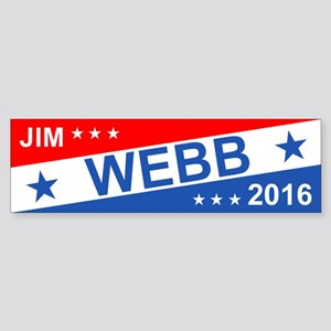 Jim Webb 2016 Bumper Sticker