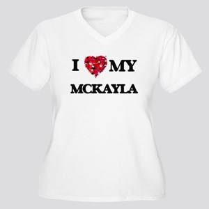 I love my Mckayla Plus Size T-Shirt