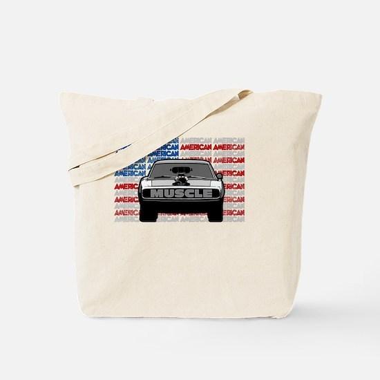 Street Racing American Muscle Tote Bag